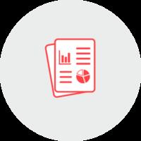 Icon: Geschäftsberichte