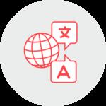 Icon: Übersetzungen