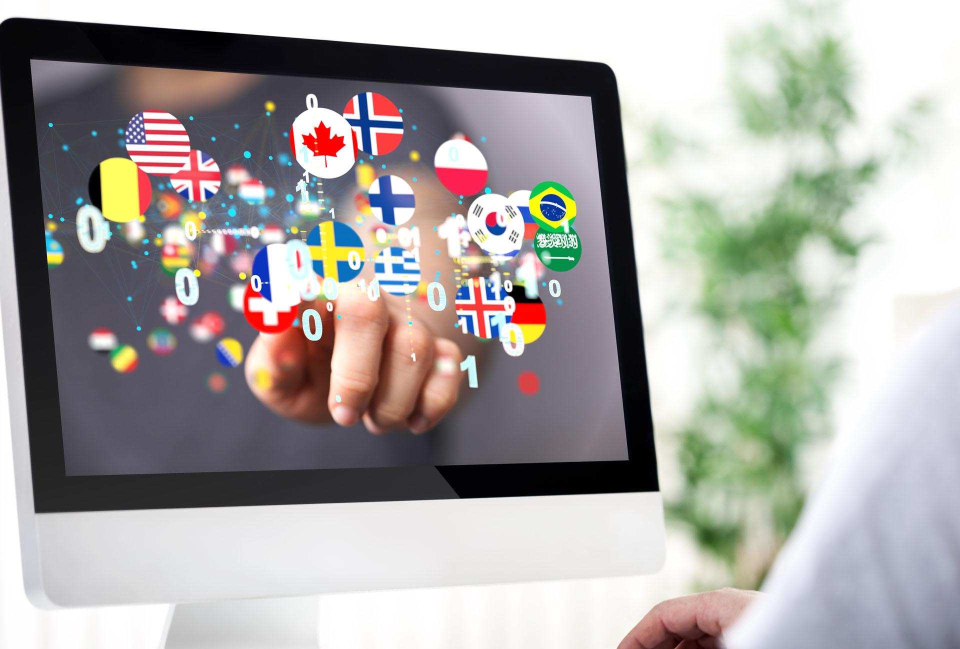 Mehrsprachige Unternehmensauftritte im Internet